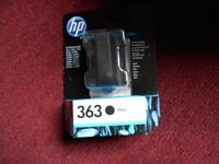 HP GENUINE 363 BLACK INK CARTRIDGE
