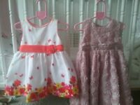 Party dresses baby girl 12-18 months