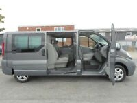 * Finance Me - No VAT * Stunning Vauxhall Vivaro LWB Facorty 6-Seat Crew Van - only 68k from new!