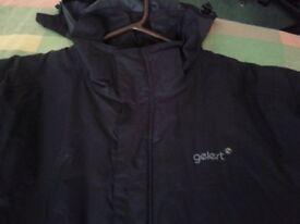 Mens Gelert black waterproof jacket