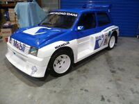 MG Metro Showcar crowd pleaser fully kitted