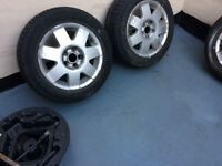 VW polo Alloy Tryes 14 inch