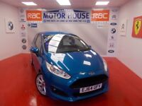 Ford Fiesta ZETEC S(£0.00 ROAD TAX) FREE MOT'S AS LONG AS YOU OWN THE CAR!!! (blue) 2014