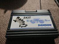 Samson 5 Piece Drum Microphones
