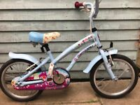 apollo cherry lane girls bike with 16 inch wheels