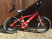 "Kids bike Apollo Urchin Red 16"" wheels £15"