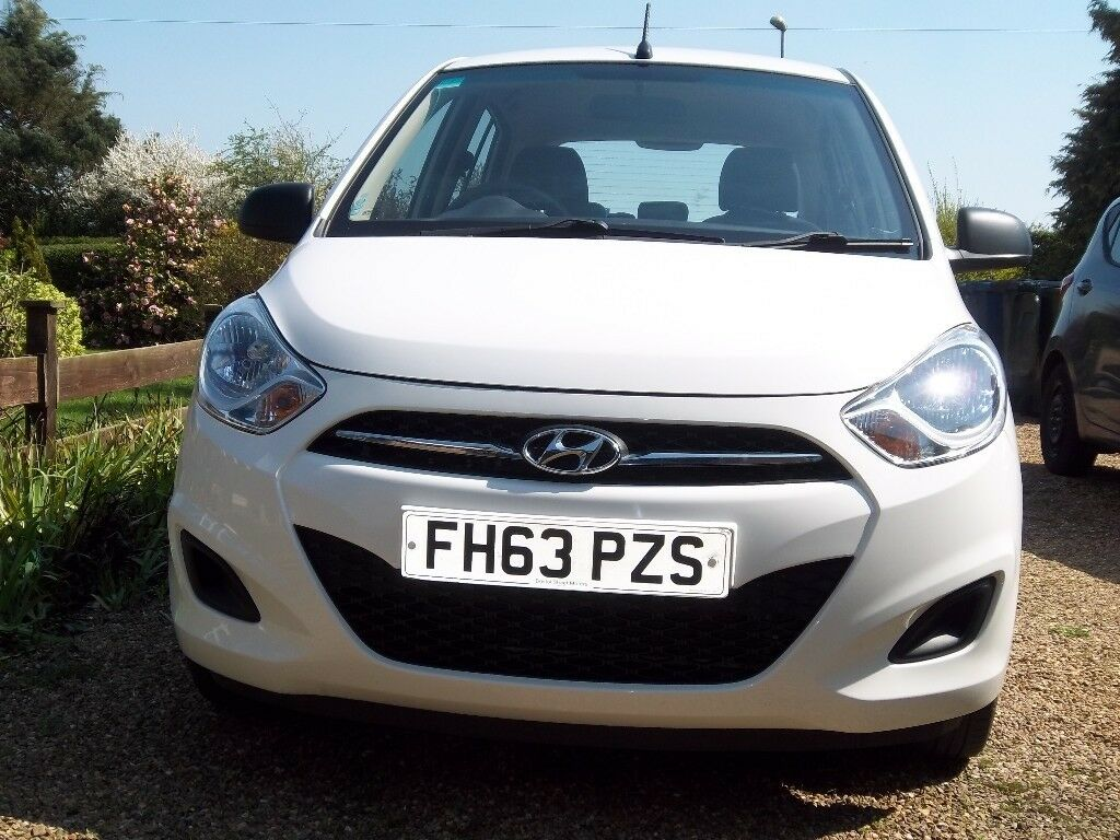 Immaculate Hyundai i10 Classic 1.2L, 63 reg (2014) with full service history