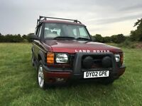 Land Rover Discovery TD5, 2002, low milage, FSH, 7 seats, MOT March 17, Great Condition.