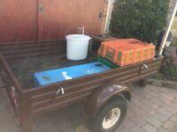 trailer,5 x 3 ,1 ft deep