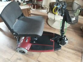 3 wheel sonic pride mobility scooter VGC charger included £150.00
