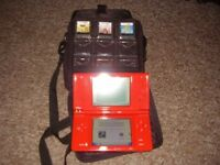 NINTENDO DSI WITH GAMES AND CASE