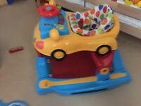 Mamas and papas baby walker 3-1 car