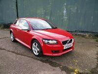 Volvo C30 1.6 Petrol R Design Red