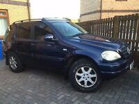 mercedes ml 430 petrol auto fore sale
