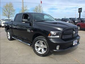 2017 Ram 1500 Sport*DEMO, ONLY 1529 KMS ON THE CLOCK*