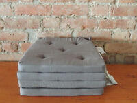 Grey soft pads for chairs (Delivery)