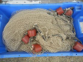 fishing nets, surface drifting spratt nets,£30 each or 2 for £50 will post anywhere in uk for £15.00