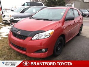 2013 Toyota Matrix 26444 Original KM's!!, One Owner, Just Traded