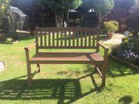 Wooden Garden Bench - Unused!