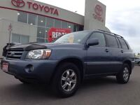 2007 Toyota Highlander RARE|LOW KM|AWD|LEATHER