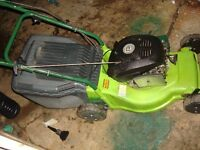 petrol lawn mowers full working ready to use