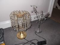 2 lamps £10 for both