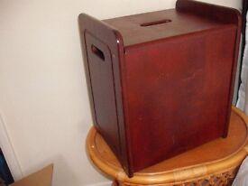 Wooden Stool/Laundry Store Box