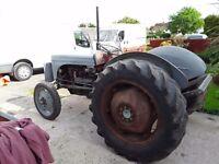 Massey Ferguson 1940s tractor