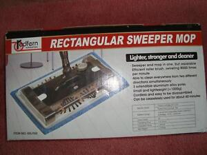 Rectangular Sweeper Mop, with rechargeable batteries