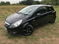 2009 VAUXHALL CORSA 1.2 SXI BLACK (NEW MOT) 85,000 MILES FROM NEW. CREDIT & DEBIT CARDS ACCEPTED.
