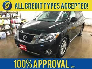 2016 Nissan Pathfinder SV*4WD*7 PASSENGER*BACK UP CAMERA W/SENSO