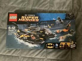 LEGO DC Comics Super Heroes The Batboat Harbour Pursuit Unopened
