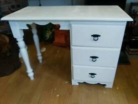 White dressing table