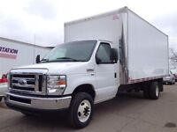 2013 Ford Econoline F450 !! CUBE VAN !! ONLY 35000 Km !! 17ft AL