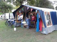 Conway Classic Trailer Tent 2000 6-8 berth Model CDL