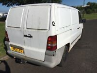 Mercedes Vito 108 COD SPARES OR REPAIR