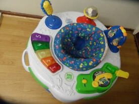 LEAP FROG EDUCATIONAL BABY BOUNCER