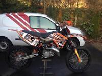 Ktm sx 125 motocross bike great condition 2009