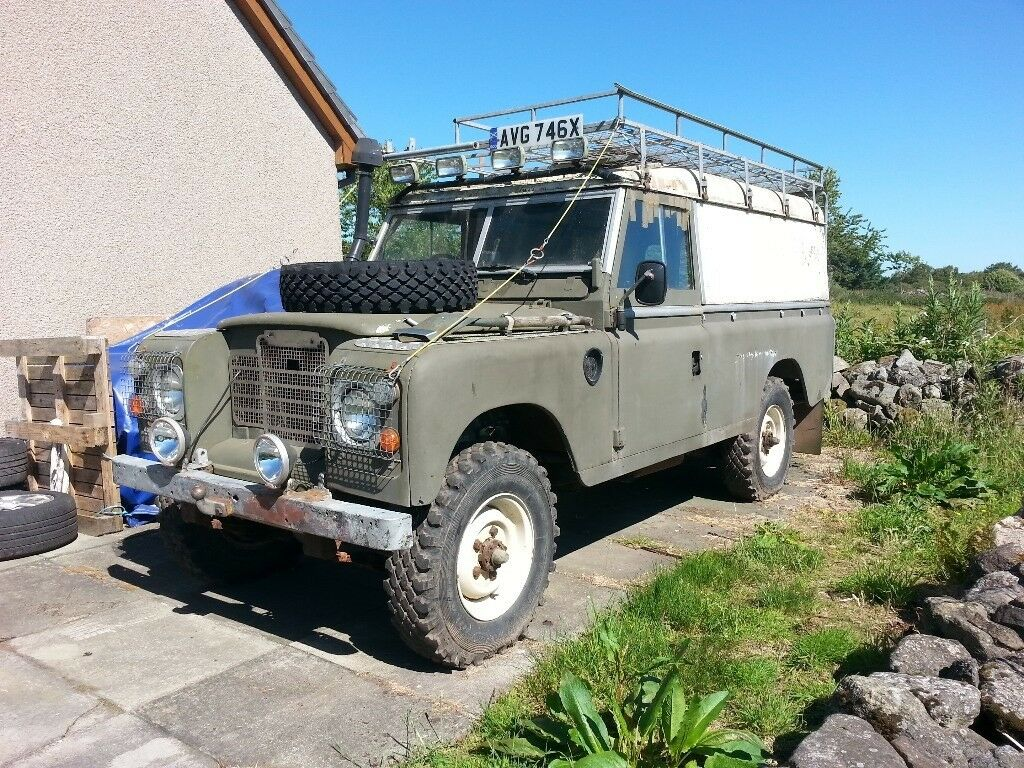 land rover series 3 109 lwb 1981 in aberdeen gumtree. Black Bedroom Furniture Sets. Home Design Ideas