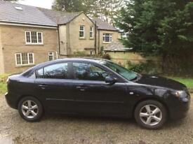 REDUCED Mazda 3 1.6ts petrol black 4door fsh