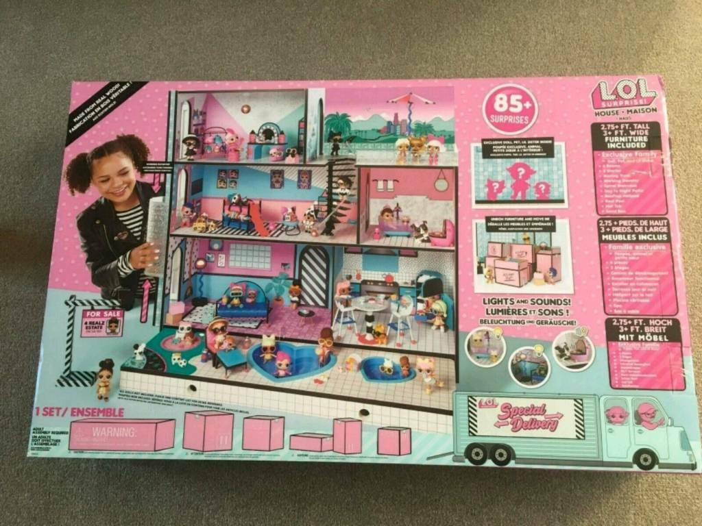 Large Lol Brand New Dolls House In Douglas Gumtree