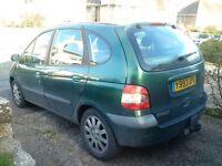 Renault scenic 2001 spares or repairs. Diesel.
