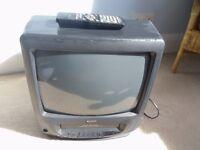 """Matsui 14"""" TV/ VCR combi"""