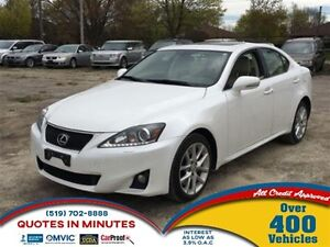 2012 Lexus IS 350 AWD | SUNROOF | LEATHER | NAVIGATION