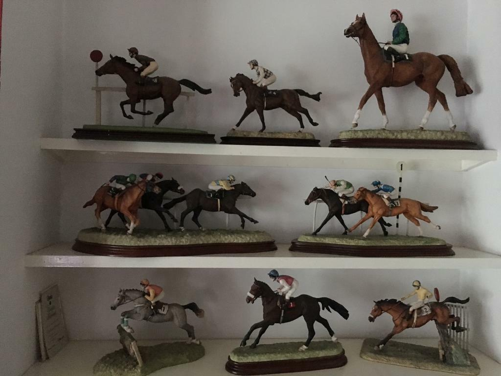 8 border fine arts racehorsesin Insch, AberdeenshireGumtree - 8 border fine arts racehorses only sale all together in good condition 5 have certificate £1300 ovno