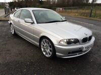 SPARES OR REPAIRE NONE RUNNER.2001 BMW 320CI SE 2 DOOR COUP 2.2cc 3 OWNERS 95.000 MILES.
