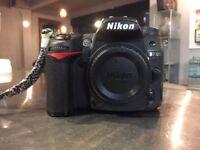 Nikon D7000 and lens