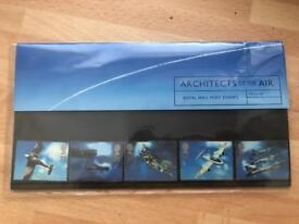 Architects of the air. Royal Mail Stamps. collectors item