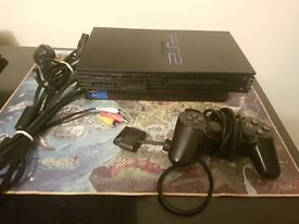 SONY PLAYSTATION 2 (PS2) + 4 games