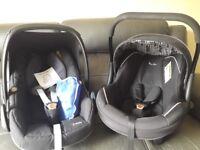 Maxi Cosi Pebble & Silver Cross Car Seats